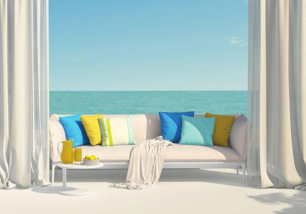 sea and window