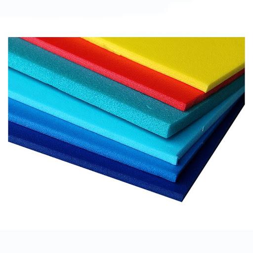 physically cross-linked foam